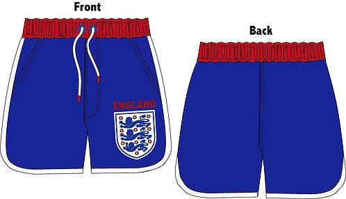 Mens England Board Shorts S-XL