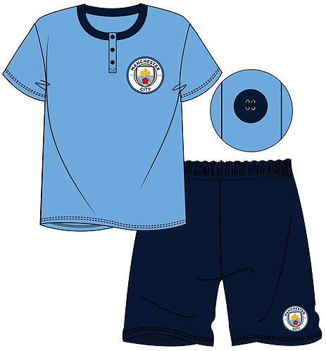 MENS MANCHESTER CITY SHORTIE S - XL