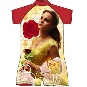 Girls Beauty and The Beast Surf Suit 18mon-5yrs