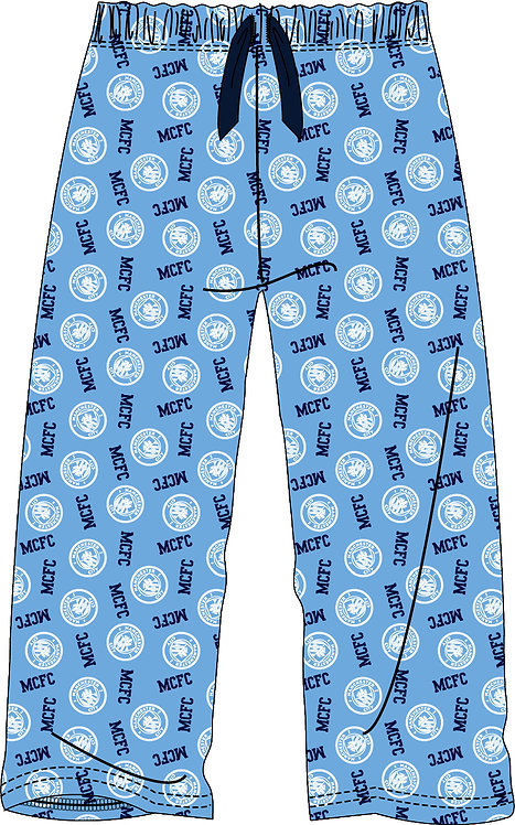 BOYS MANCHESTER CITY LOUNGE PANT 5-14YRS