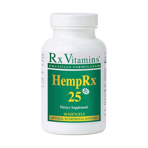 Hemp Rx 25 (60 softgels)
