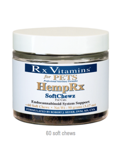 Hemp Rx chews for cats/small dogs