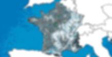 Carte des projets en France