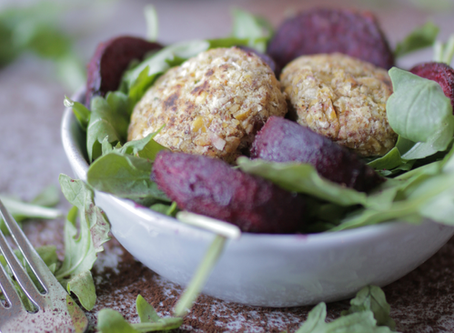 Beet & Falafel Salad Bowl