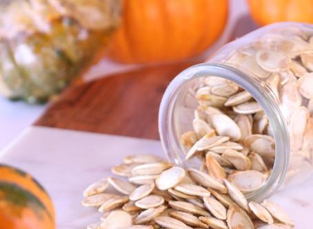 Crispy Roasted Pumpkin Seeds