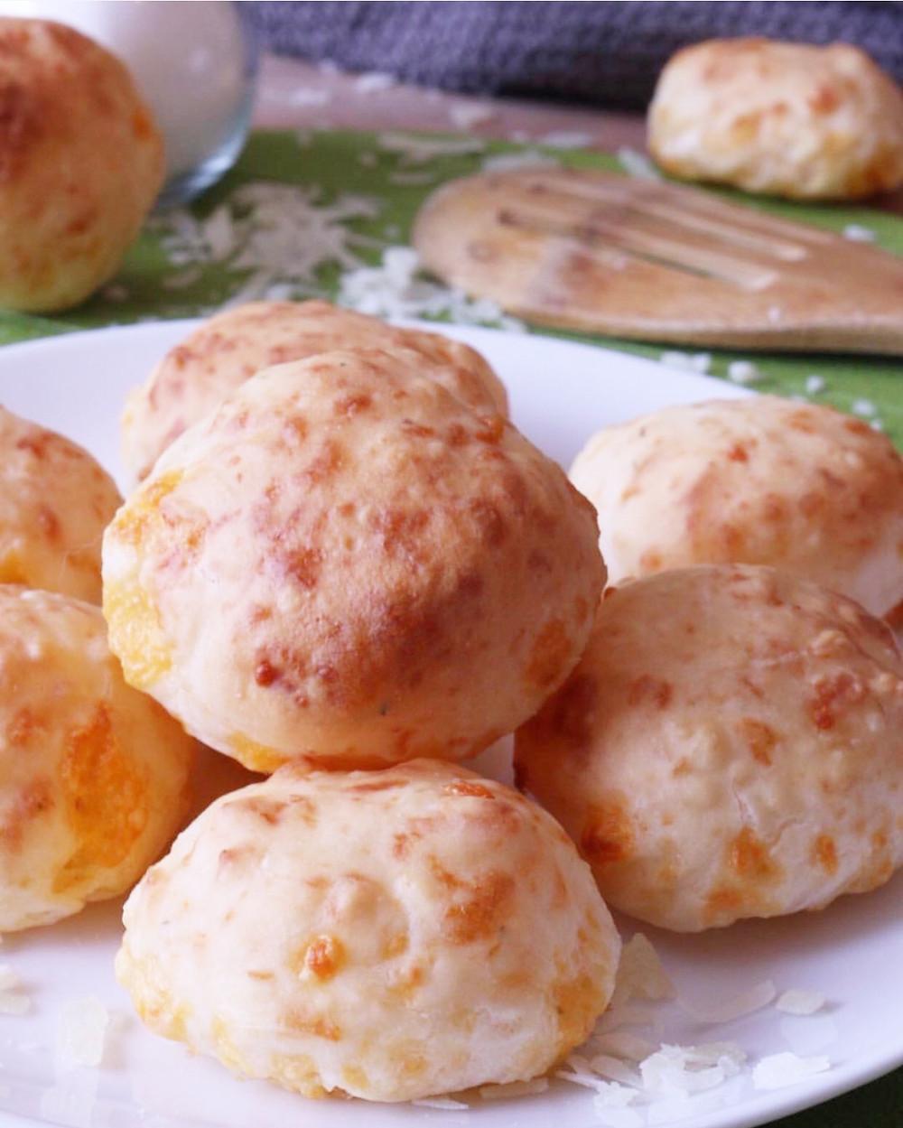 Gluten-free Brazilian Cheese Bread Buns Pao de Queijo