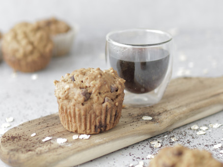 Coffee Oat Muffins
