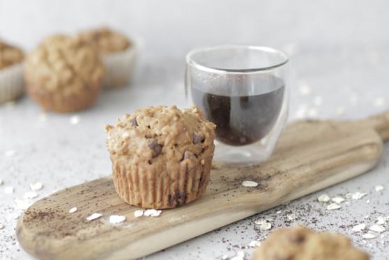 Coffee Oat Muffins