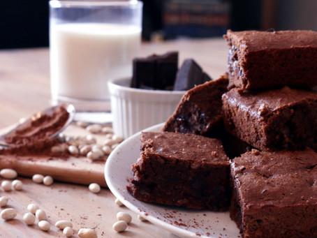 White Bean Chocolate Brownies