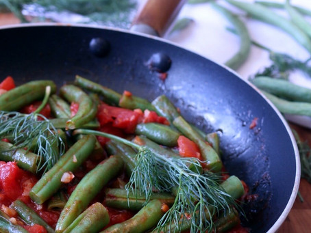 Green Beans with Tomatoes & Dill