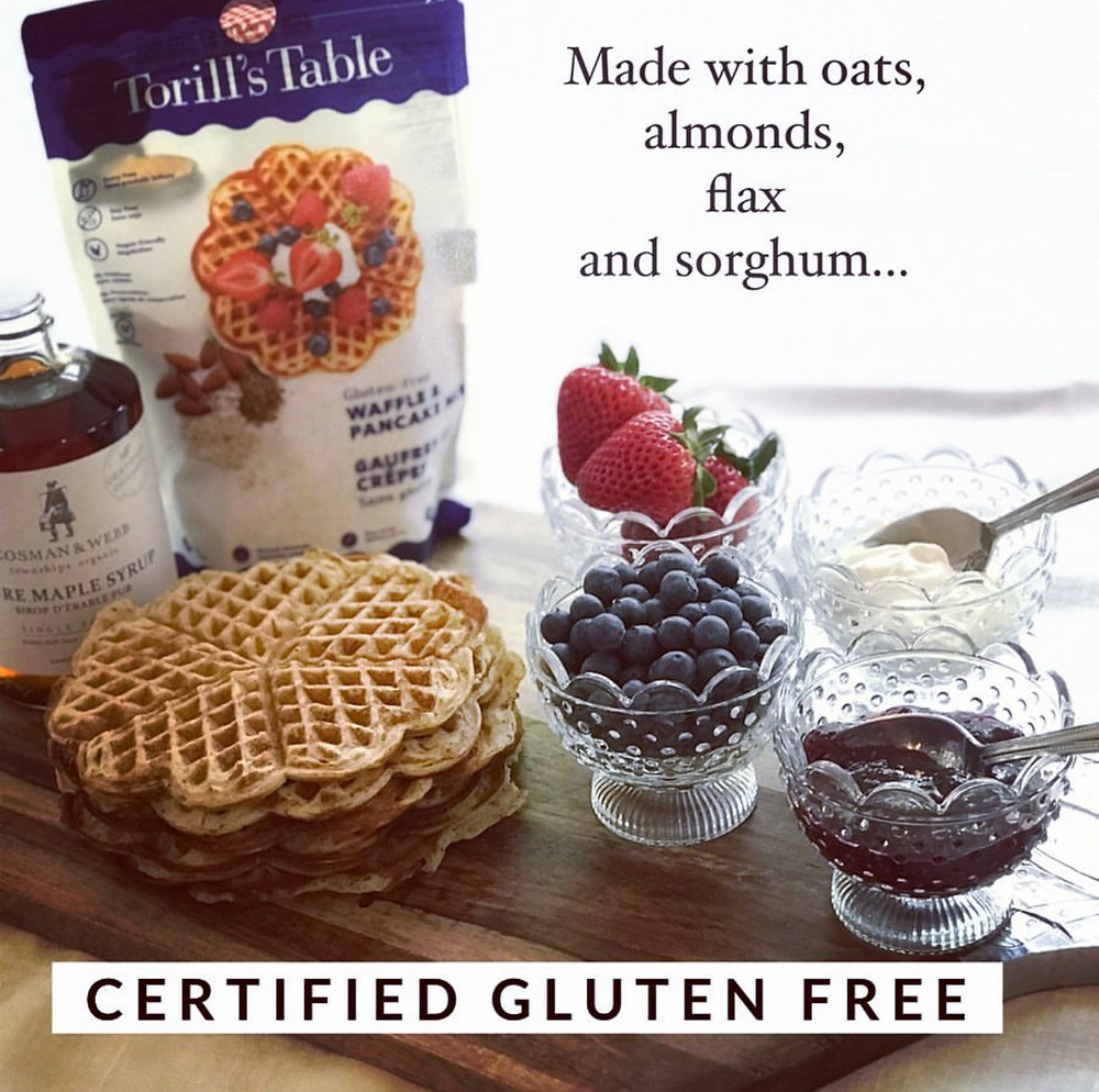 Torill's Table Pancake and Waffle Mix - Original & Gluten-Free