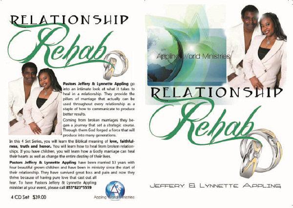 RELATIONSHIP REHAB TEACHING CD