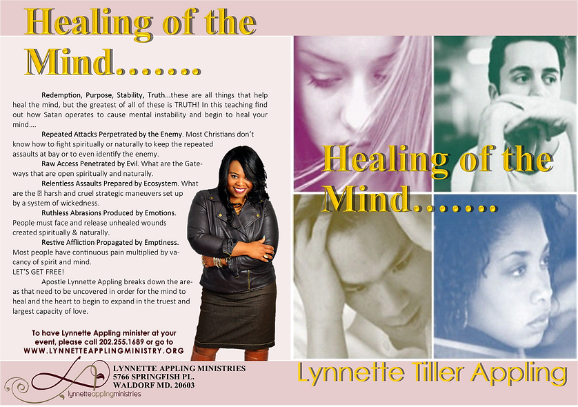 HEALING OF THE MIND CD