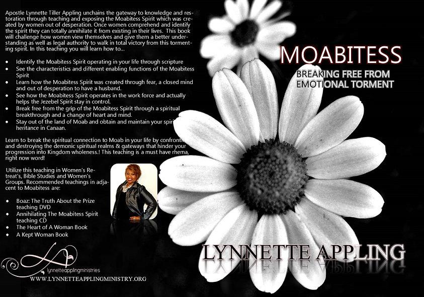 MOABITESS: THE SPIRIT OF TORMENT CD
