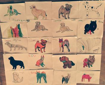 Les dessins des enfants