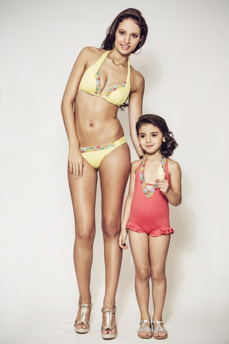 Maillot de bain  maman et fille