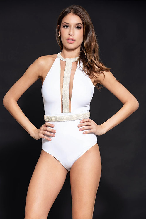 90117 Maillot de bain une piece Orza wedding