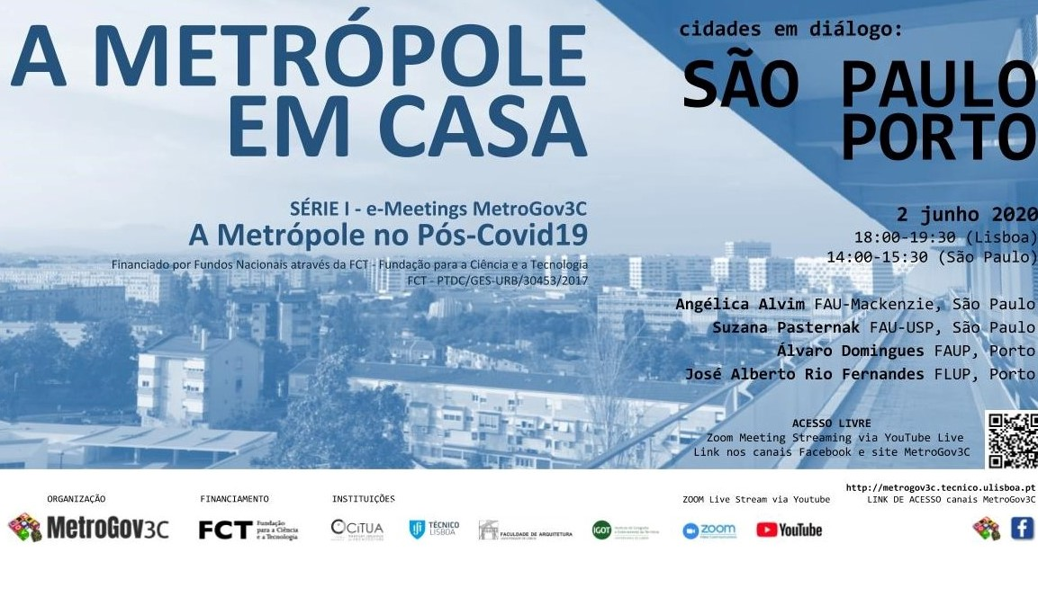 METRÓPOLE EM CASA #1