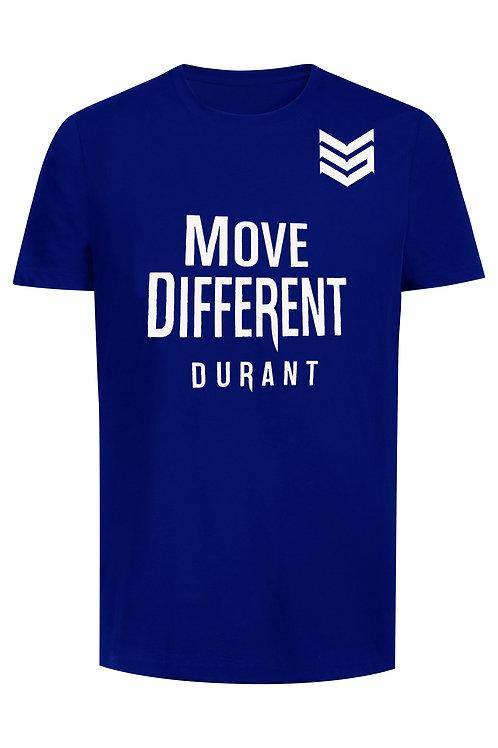 Move Different Blue Tee Shirt