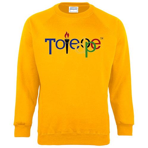 Toledope Crew Sweater Gold/Yellow