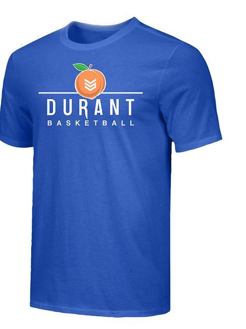 Peach Jam (Exclusive) Durant Basketball Tee Shirt ( Blue)