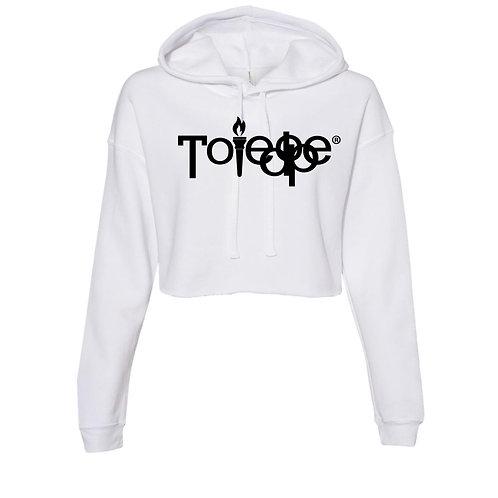 Crop Top  Sweater ( White)