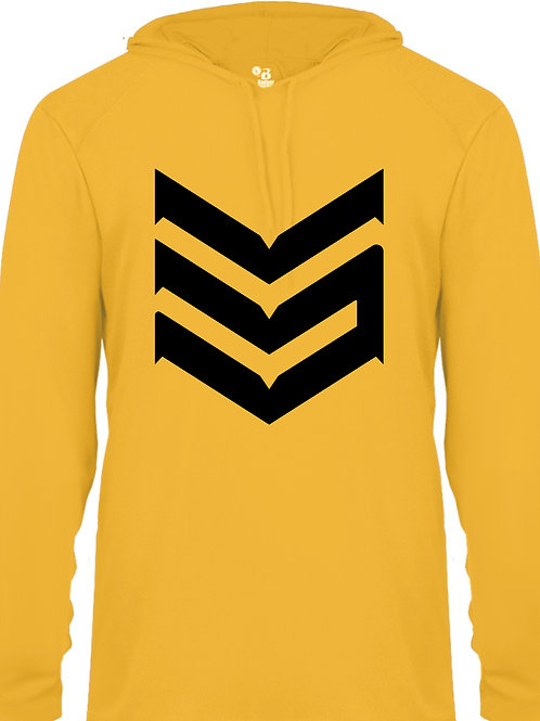 Dri Fit Hoodie (Yellow and Black)
