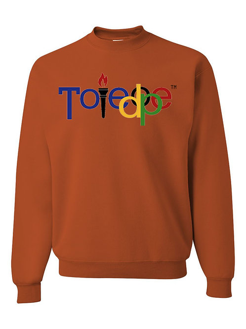 Toledope Crew Sweater Texas Orange