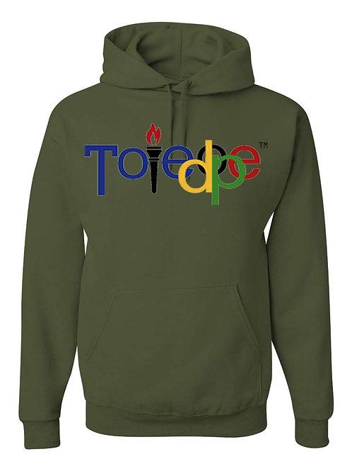 Toledope Hoodie Olive Green