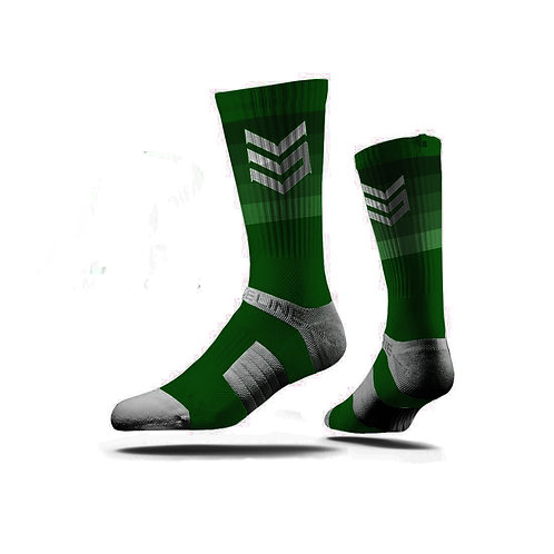 Team Durant Compression Sock (Green)