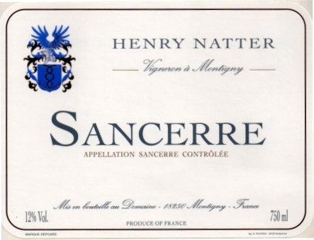 SANCERRE Henry Natter (917810)