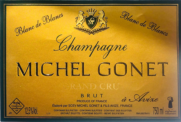 CHAMPAGNE Michel Gonet Blanc de Blanc Grand Cru NV (955774)