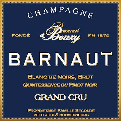 CHAMPAGNE Barnaut Blanc de Noirs (902119)