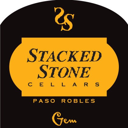RED BLEND Stacked Stone Gem (955791)