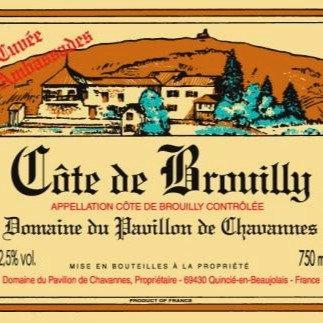 BEAUJOLAIS Domaine du Pavillon de Chavannes (902432)