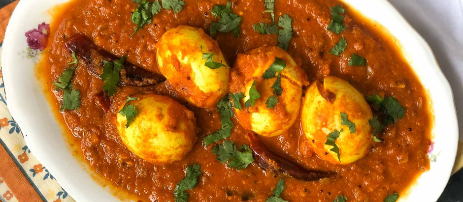 Egg Curry (Anda Curry)