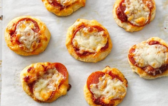 Biscuit Pizza (Mini Pizza Bites)