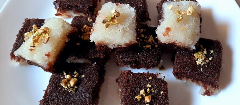 Chocolate Coconut Barfi