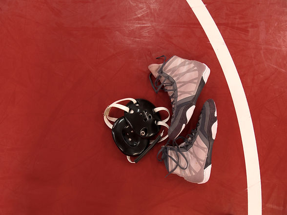 Wrestling Shoes, Mat