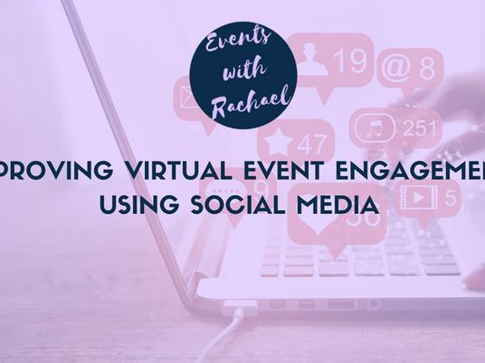 Improving Virtual Event Engagement using Social Media