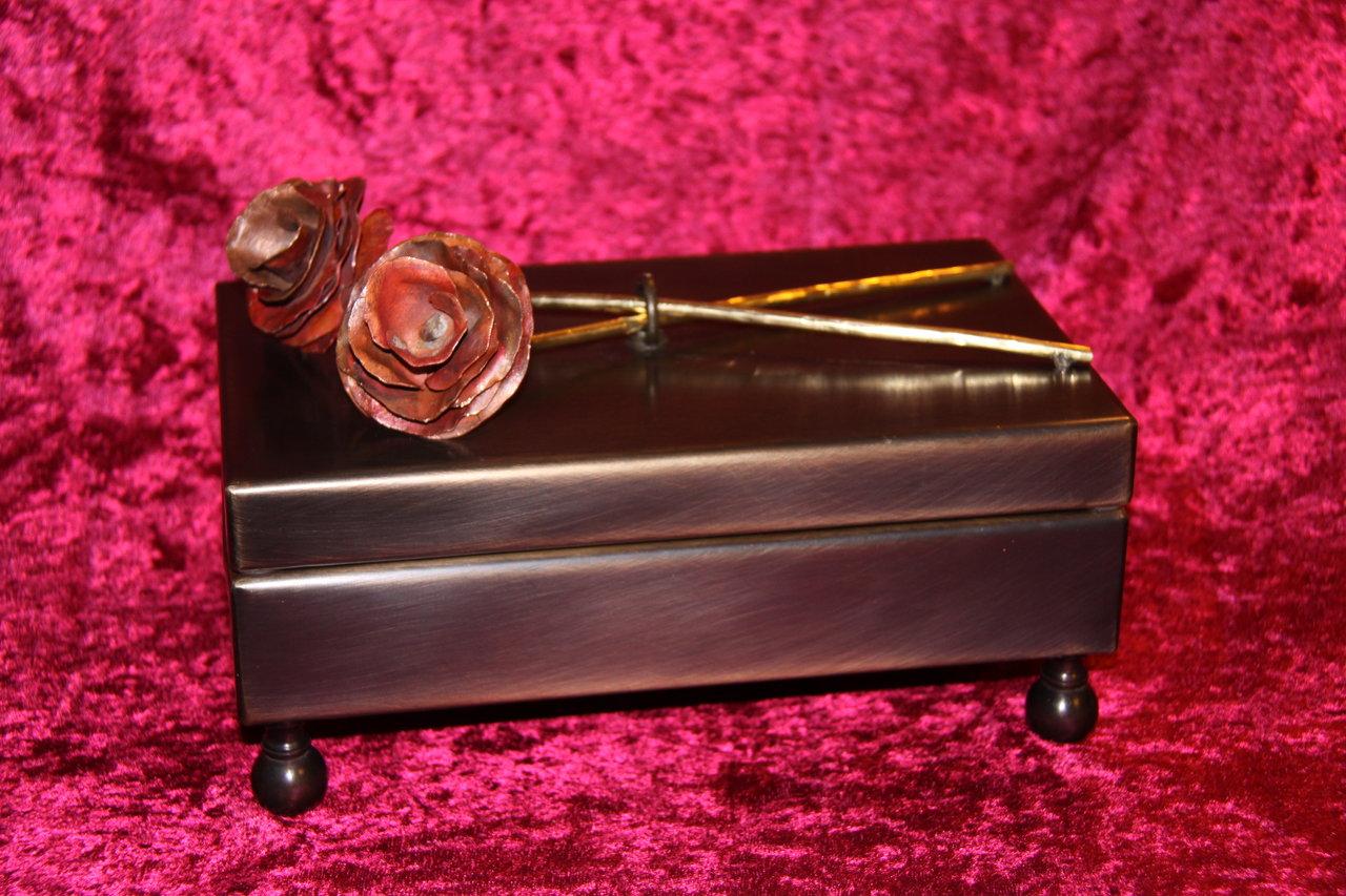 Bronze Jewelry Box