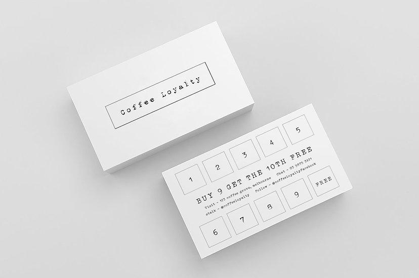 Coffee Cards - DK027
