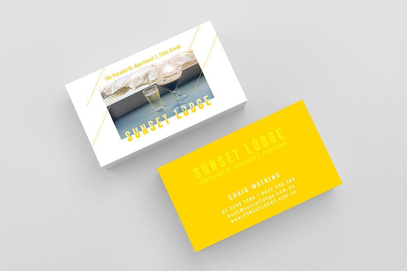 Business Cards - DK044