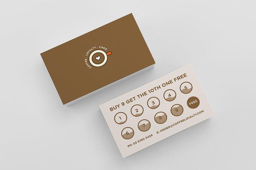 Coffee Cards - DK025