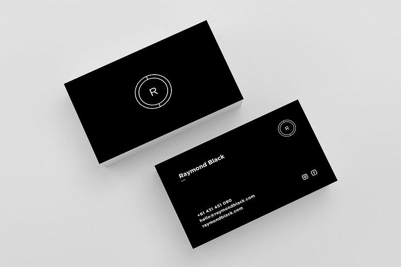 Business Cards - DK016