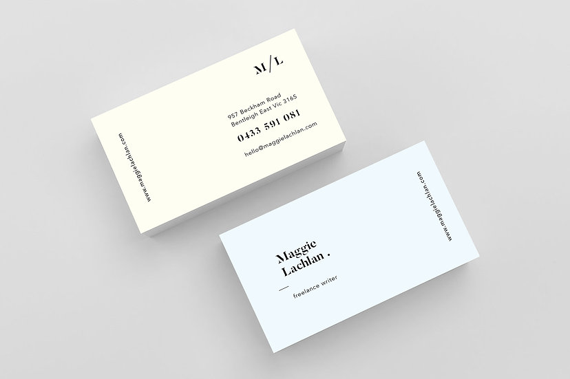 Business Cards - DK035