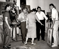 Lowell teaching circa 1960