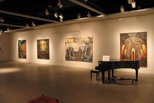 Solo Exhibit, Ellen Noel Museum, Odessa, TX, 2004