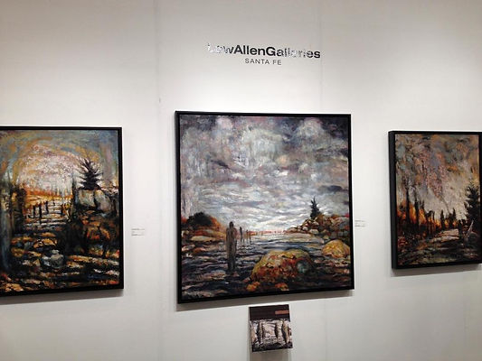 Houston Art Fair, LewAllen Galleries, 2012