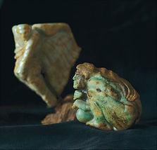 Jade Gabriel Carvings